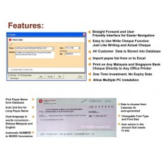 Pro & Easy Cheque Writer Software